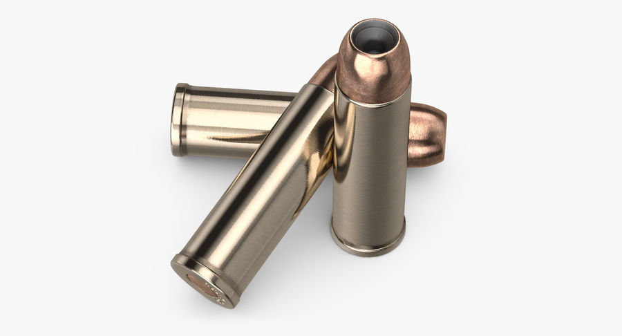 Revolver Colt Anaconda royalty-free 3d model - Preview no. 38