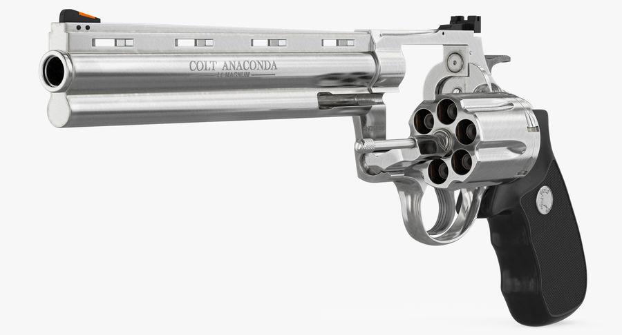 Revolver Colt Anaconda royalty-free 3d model - Preview no. 15