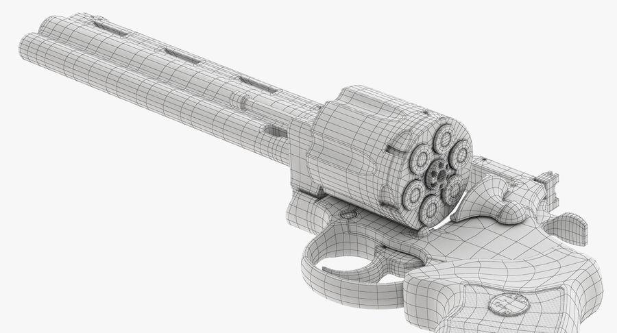 Revolver Colt Anaconda royalty-free 3d model - Preview no. 52