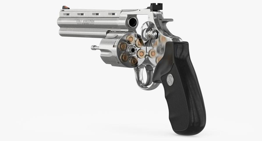 Revolver Colt Anaconda royalty-free 3d model - Preview no. 16