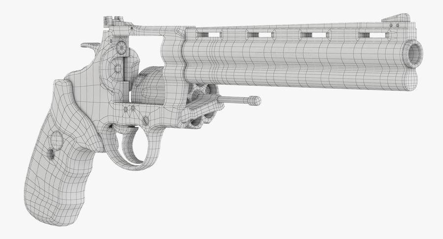 Revolver Colt Anaconda royalty-free 3d model - Preview no. 45