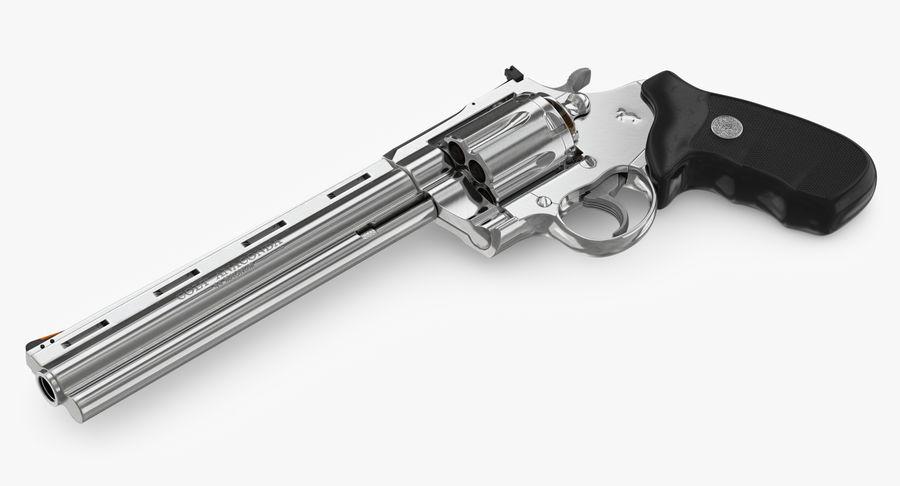 Revolver Colt Anaconda royalty-free 3d model - Preview no. 21