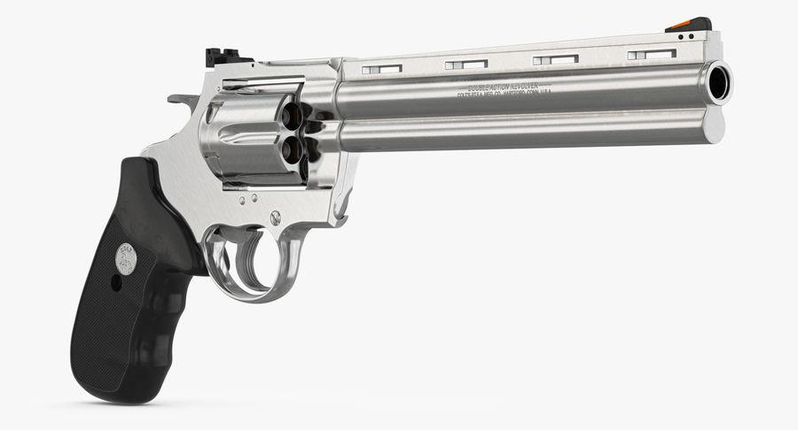 Revolver Colt Anaconda royalty-free 3d model - Preview no. 12