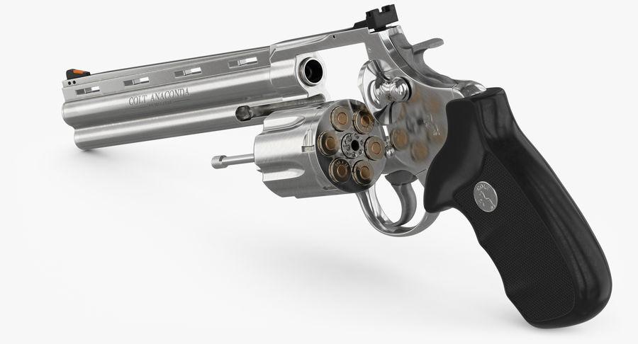 Revolver Colt Anaconda royalty-free 3d model - Preview no. 22