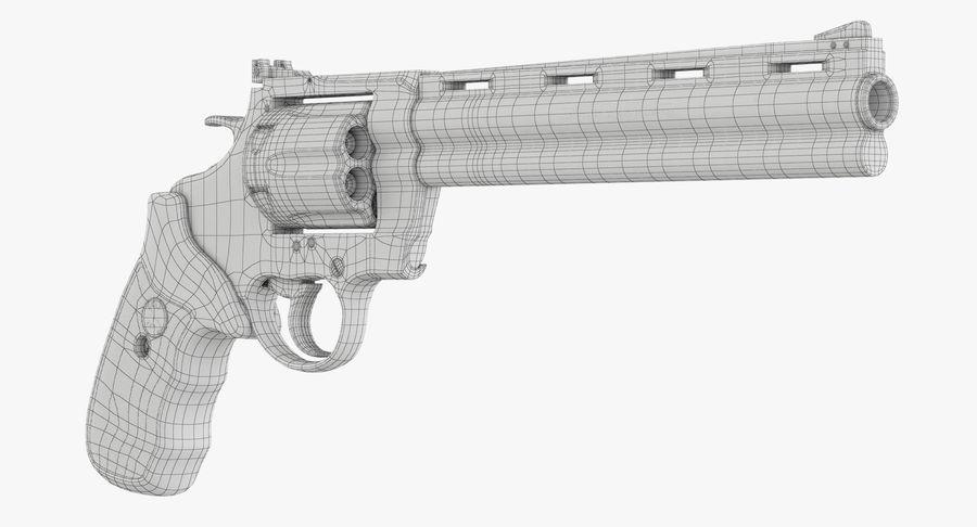 Revolver Colt Anaconda royalty-free 3d model - Preview no. 40