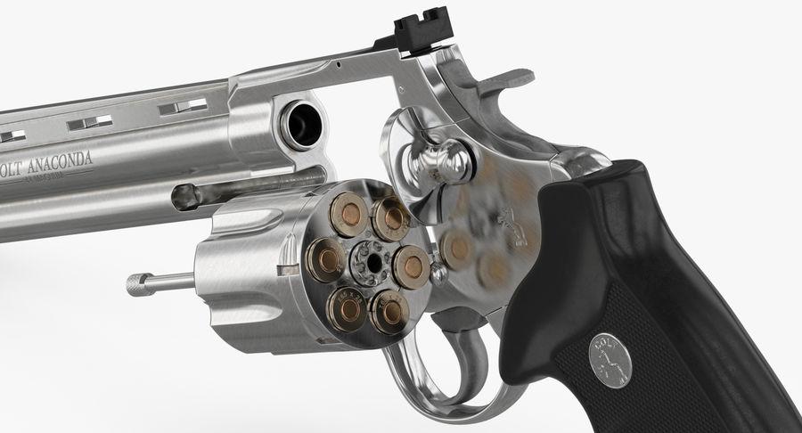 Revolver Colt Anaconda royalty-free 3d model - Preview no. 29