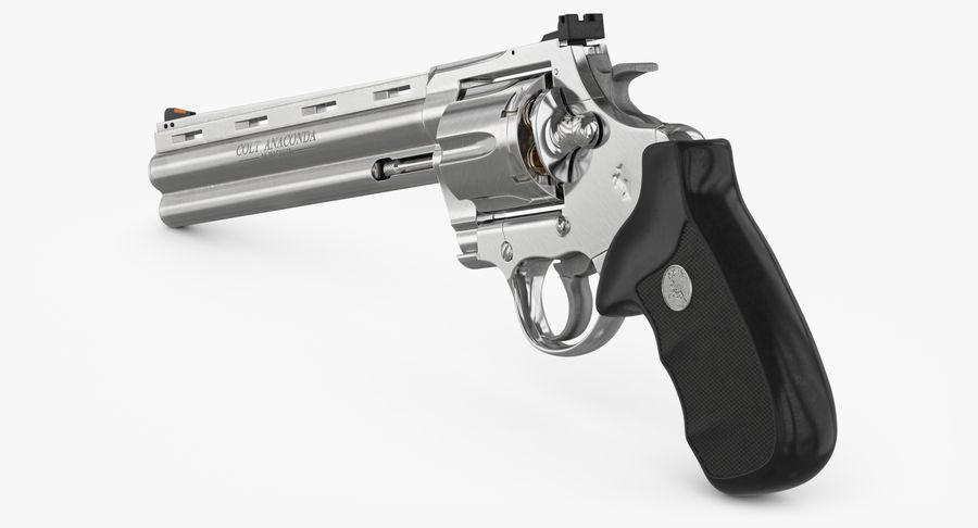 Revolver Colt Anaconda royalty-free 3d model - Preview no. 18