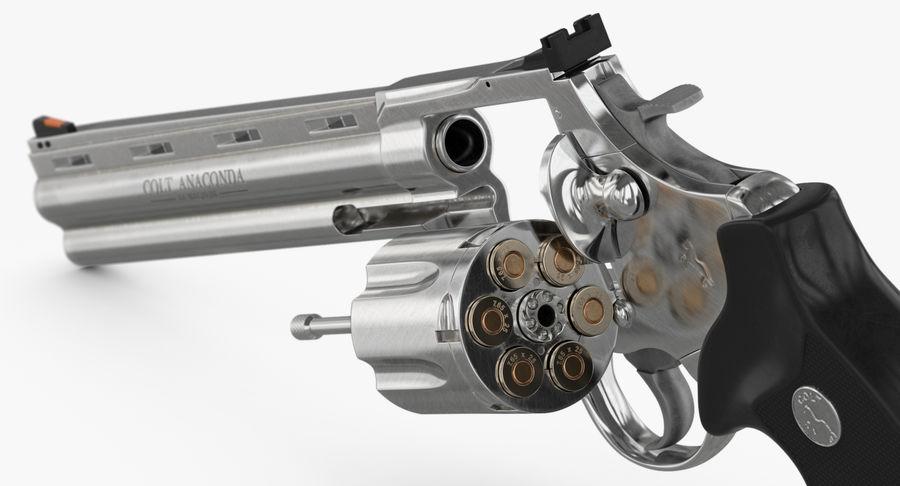 Revolver Colt Anaconda royalty-free 3d model - Preview no. 34