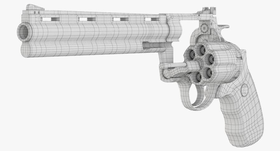 Revolver Colt Anaconda royalty-free 3d model - Preview no. 43