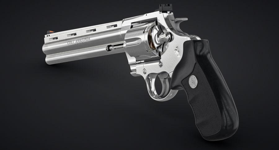 Revolver Colt Anaconda royalty-free 3d model - Preview no. 5