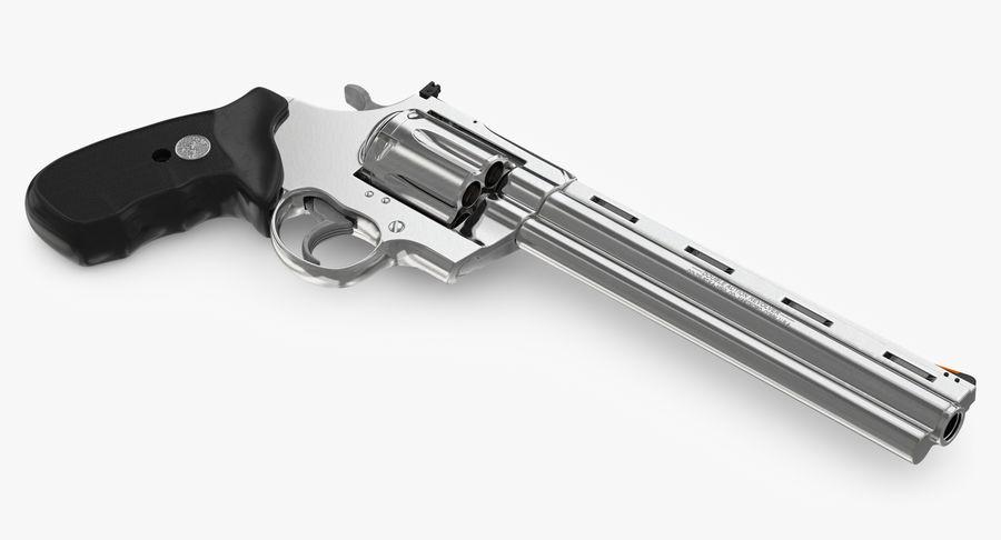 Revolver Colt Anaconda royalty-free 3d model - Preview no. 19