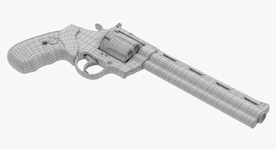 Revolver Colt Anaconda royalty-free 3d model - Preview no. 46