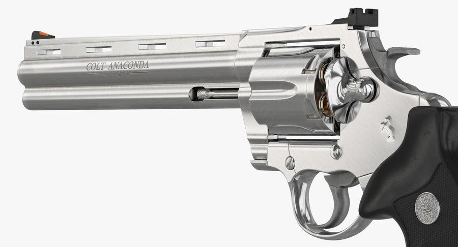 Revolver Colt Anaconda royalty-free 3d model - Preview no. 26