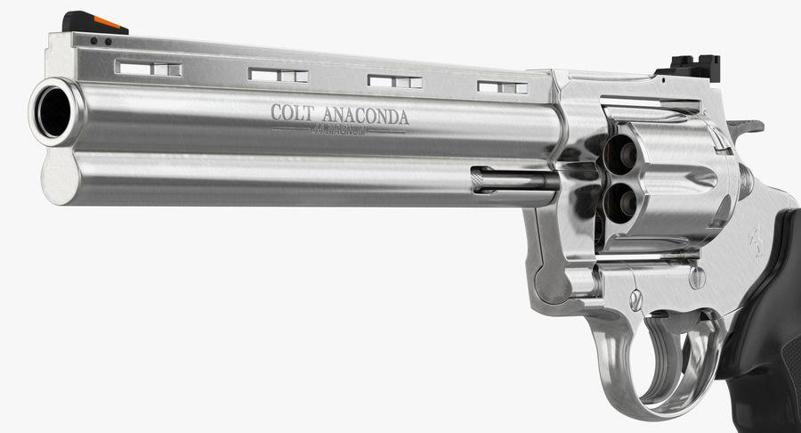 Revolver Colt Anaconda royalty-free 3d model - Preview no. 27
