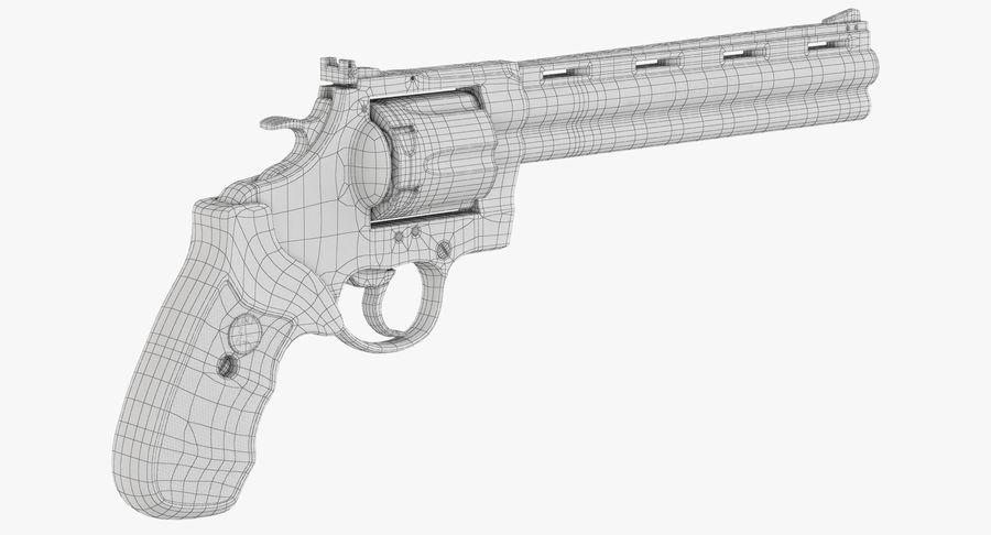 Revolver Colt Anaconda royalty-free 3d model - Preview no. 41