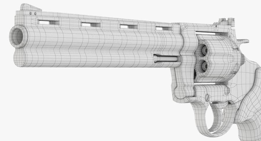 Revolver Colt Anaconda royalty-free 3d model - Preview no. 49