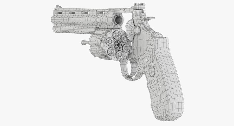 Revolver Colt Anaconda royalty-free 3d model - Preview no. 44
