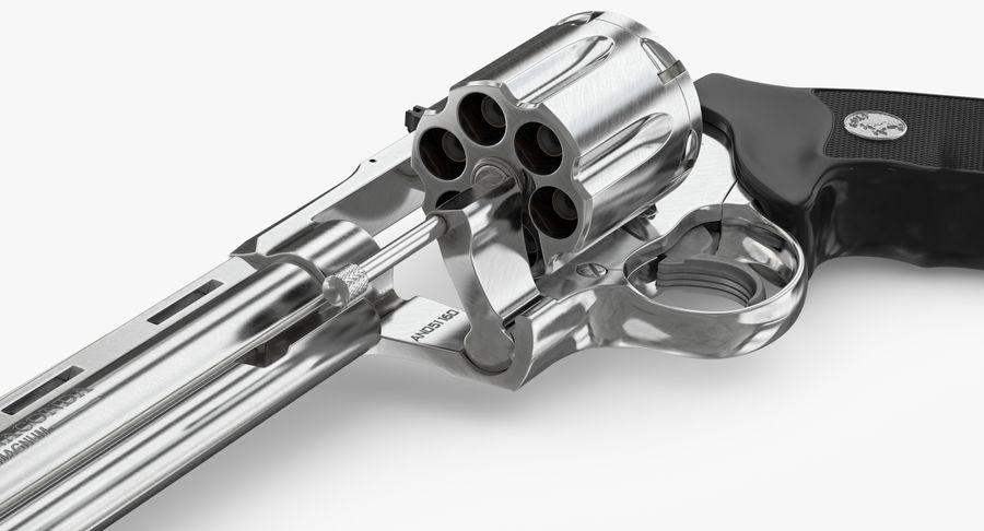 Revolver Colt Anaconda royalty-free 3d model - Preview no. 30