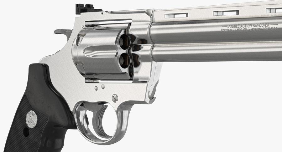 Revolver Colt Anaconda royalty-free 3d model - Preview no. 25