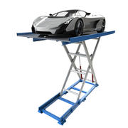 Car Lift Scissor and Car 3d model