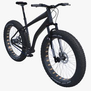 Fat Bike Bicycle 3d model