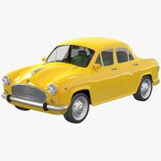 Taxi Indien 3d model