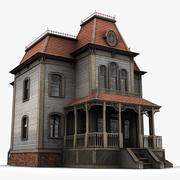 rezydencja Batesa 3d model