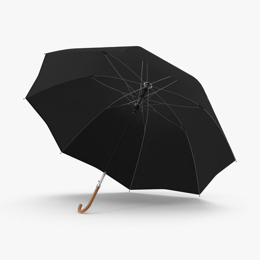 Otwórz parasol 02 royalty-free 3d model - Preview no. 1