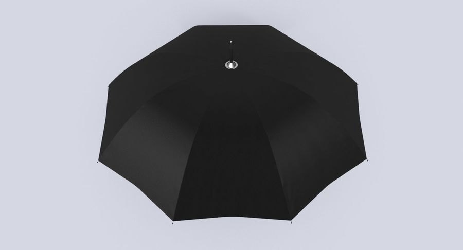 Otwórz parasol 02 royalty-free 3d model - Preview no. 5