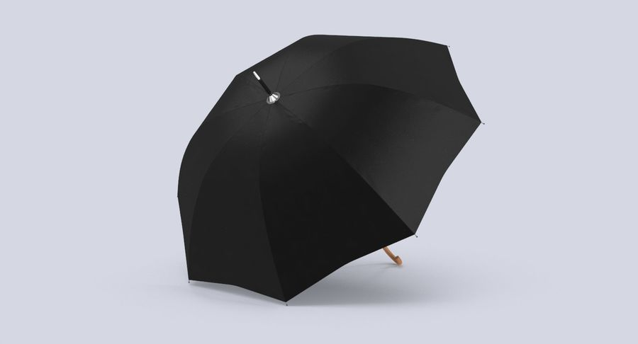 Otwórz parasol 02 royalty-free 3d model - Preview no. 6