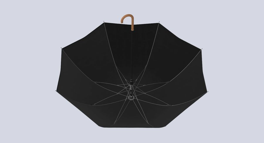 Otwórz parasol 02 royalty-free 3d model - Preview no. 12