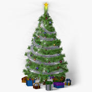 Christmas Tree (animated) 3d model