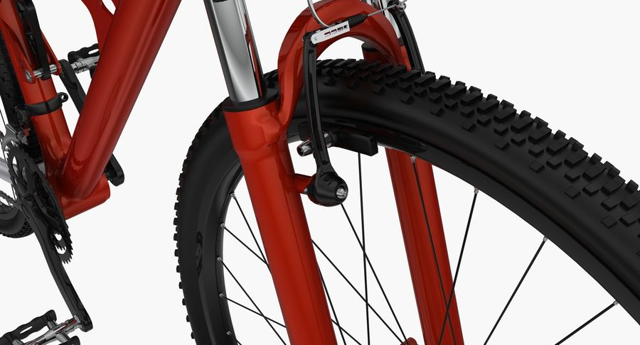 Mountainbike royalty-free 3d model - Preview no. 17