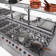 Equipamento de cozinha 3d model