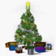 Mini Weihnachtsbaum (animiert) 3d model