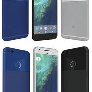 Google Pixel y XL modelo 3d