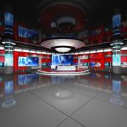 虚拟工作室新闻3 3d model