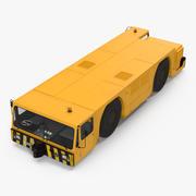 Tung flygplanstraktor 3d model