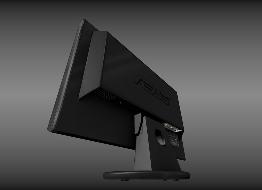 PC Monitor ASUS royalty-free 3d model - Preview no. 12
