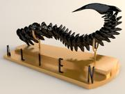 THE TAIL OF ALIEN 3d model