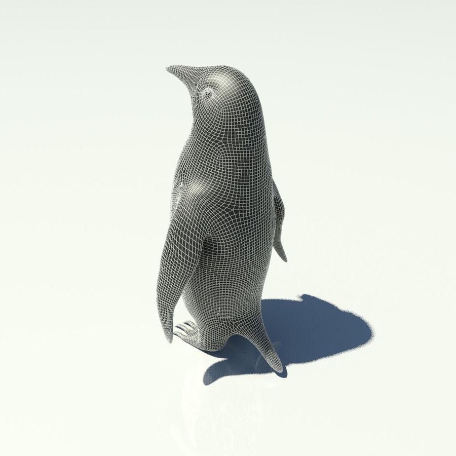 企鹅 royalty-free 3d model - Preview no. 10