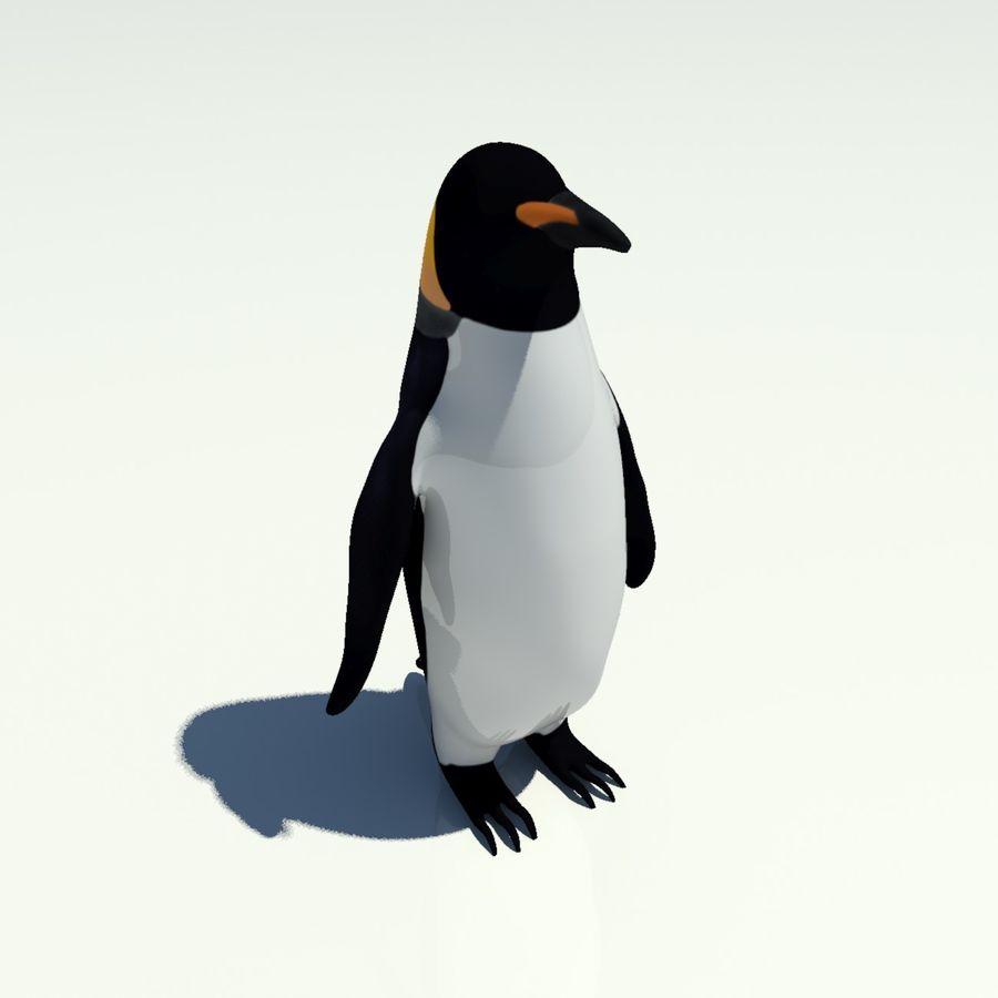 企鹅 royalty-free 3d model - Preview no. 6