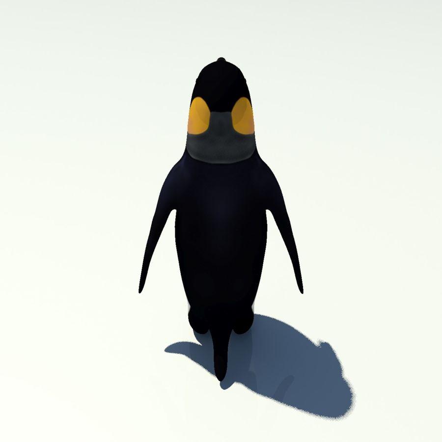 企鹅 royalty-free 3d model - Preview no. 5