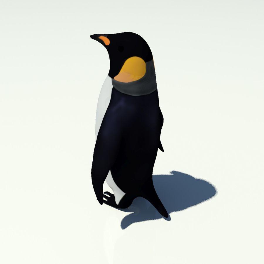 企鹅 royalty-free 3d model - Preview no. 2