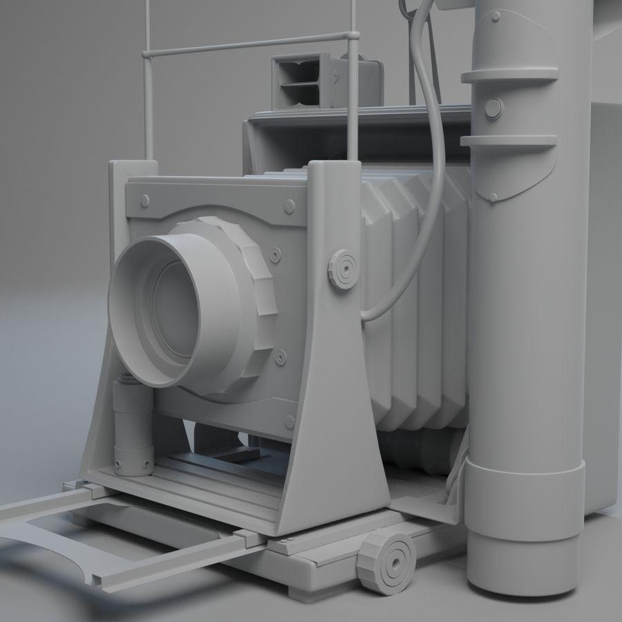 Vecchia macchina fotografica royalty-free 3d model - Preview no. 4