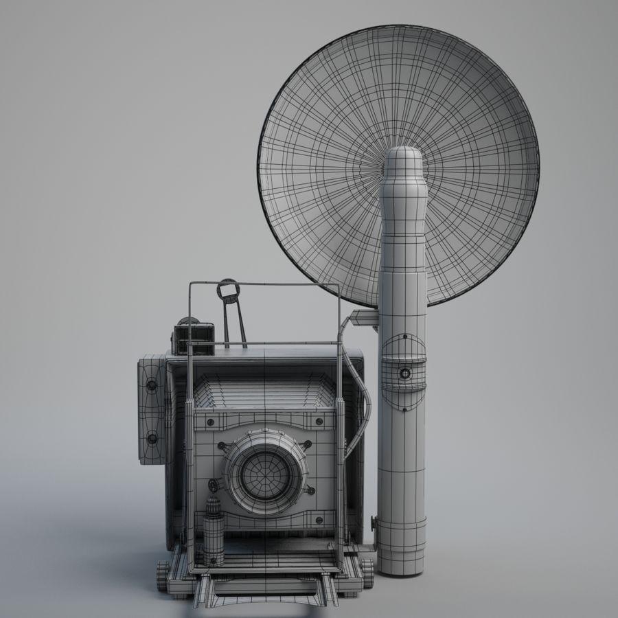 Vecchia macchina fotografica royalty-free 3d model - Preview no. 6