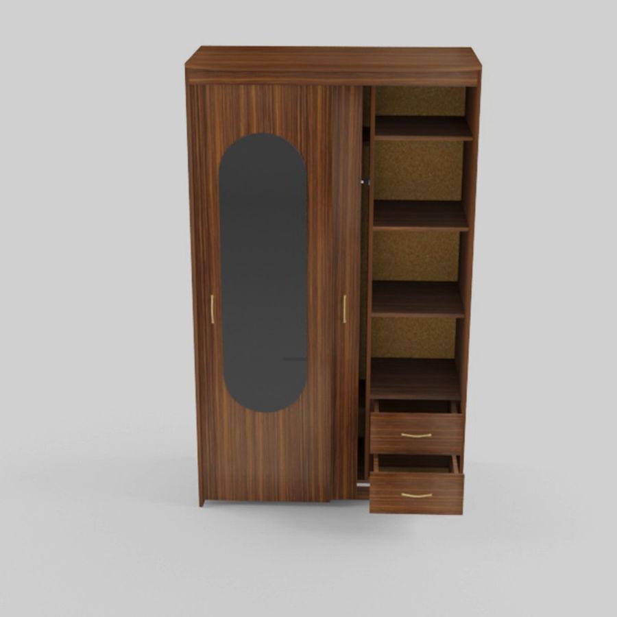 Schowek na walizki royalty-free 3d model - Preview no. 3