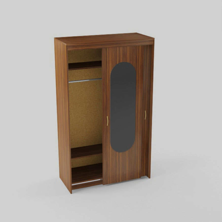 Schowek na walizki royalty-free 3d model - Preview no. 5