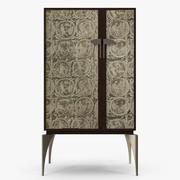 해밀턴 콘테-Manolo high cabinet 3d model