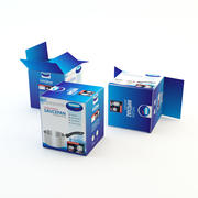 Cardboard Box(2) 3d model